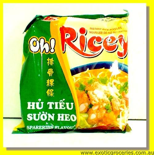 Oh Ricey Instant Rice Noodles Spare Ribs Flavour