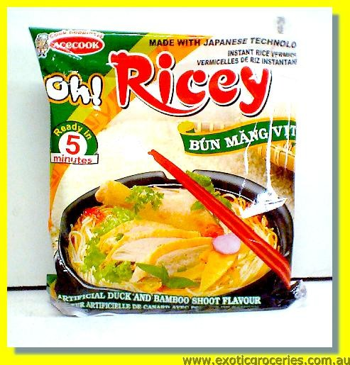 Oh Ricey Instant Rice Vermicelli Artificial Duck & Bamboo Shoot