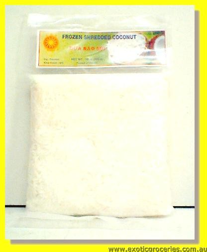 Frozen Shredded Coconut