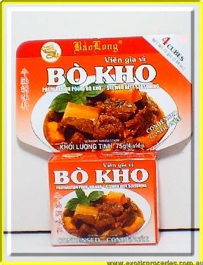 Stewed Beef Seasoning Bo Kho