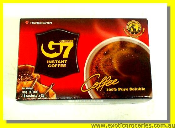 G7 Instant Coffee 15sachets