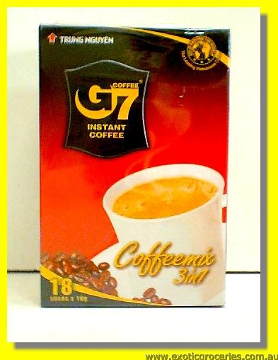 G7 Instant Coffee Mix 3in1 18sticks