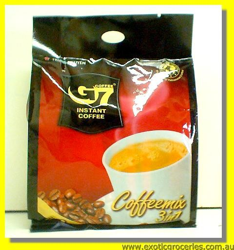 G7 Instant Coffee 3in1 22sachets