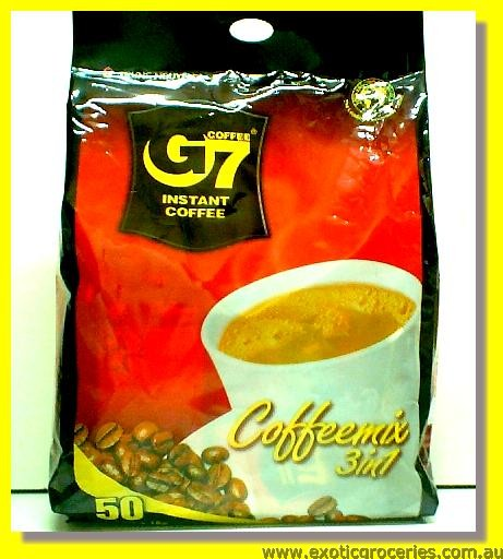 G7 Instant Coffee Mix 3in1 50sachets