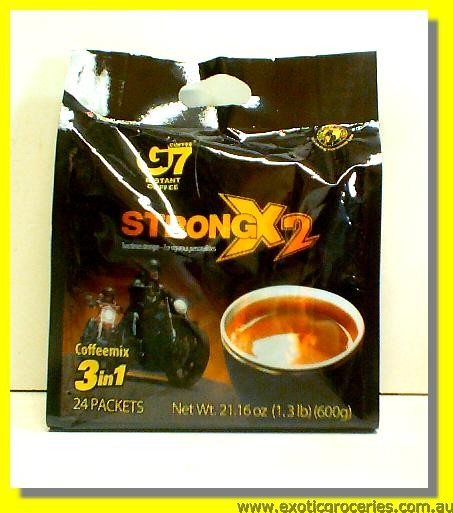 G7 Instant Coffee Mix 3in1 Strong 24pkts