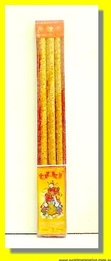 Gold Joss Sticks 3pcs