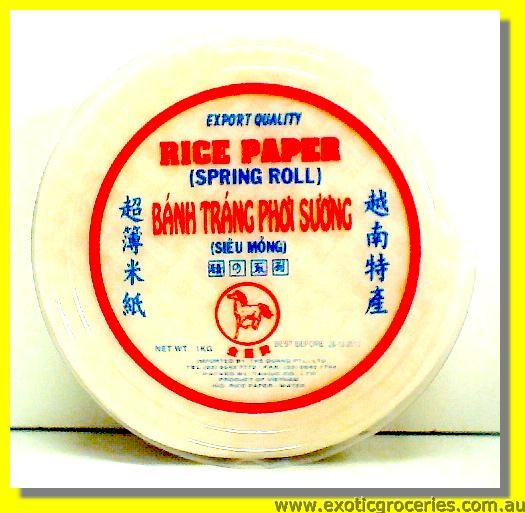 Rice Paper For Spring Roll 22cm