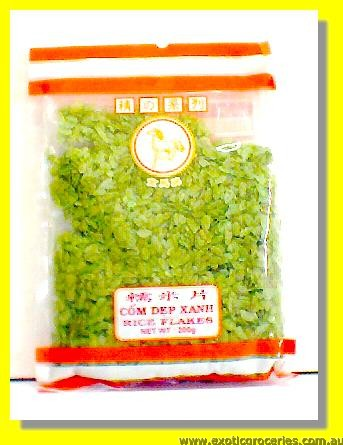 Rice Flakes Green