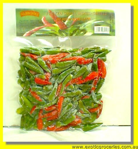 Frozen Small Mixed Chilli