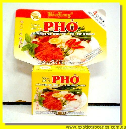 Pho Soup Seasoning Cubes 4pcs