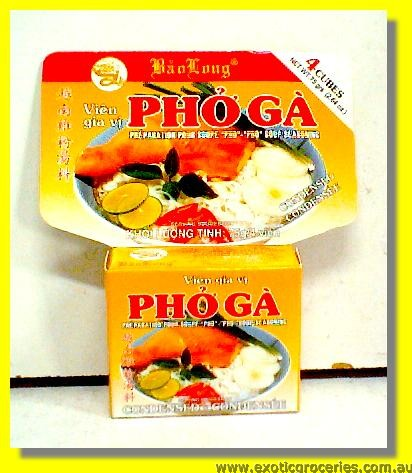 Pho Ga Condensed Chicken Flavour Stock Cubes