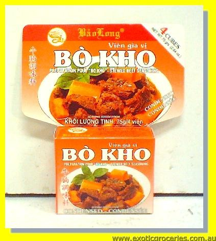 Bo Kho Stewed Beef Seasoning 4cubes