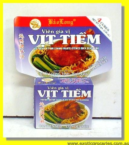 Vit Tiem Stewed Duck Seasoning 4cubes