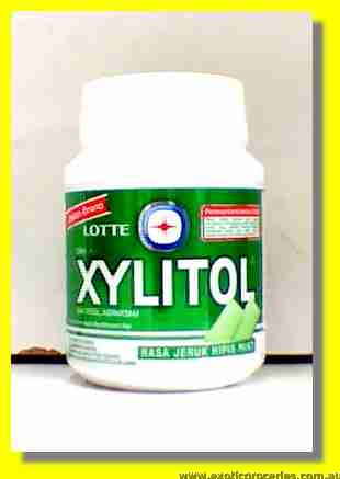 Xylitol Chewing Gum Lime Mint Flavour