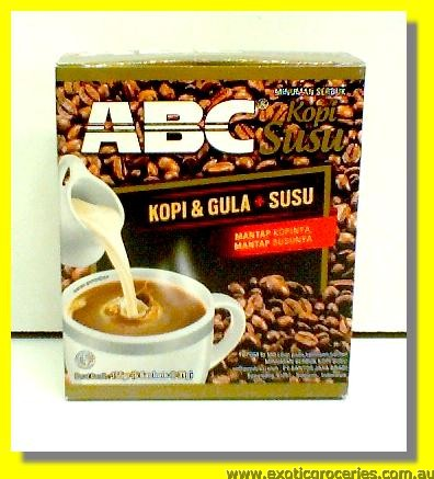 Instant Coffee Mix (Kopi & Gula + Susu) 5pkts