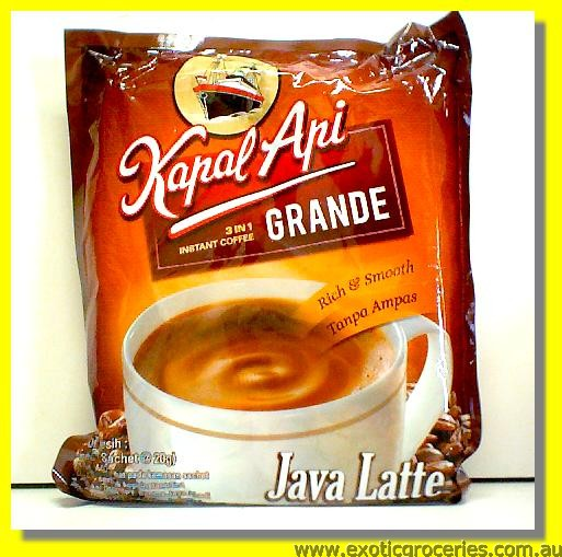 Instant Coffee 3in1 (Java Latte) 20sachets