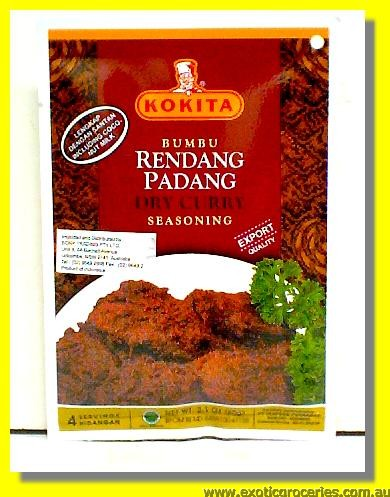 Dried Curry Seasoning (Bumbu Rendang Padang)