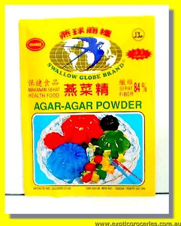 Agar Agar Powder Orange Flavour