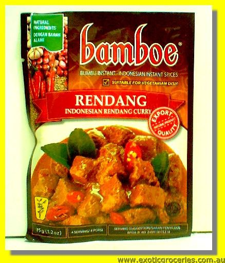 Rendang Beef in Hot Sauce