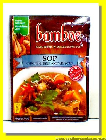 Sop Chicken/Beef/Oxtail Soup