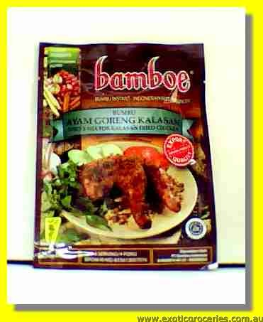 Bumbu Ayam Goreng Kalasan Spices Mix for Kalasan Fried Chicken