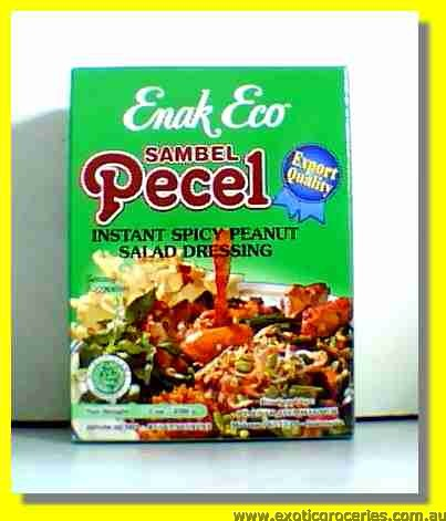 Bambu Pecel Instant Salad Dressing (Hot)