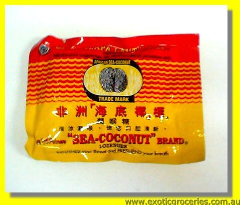 African Sea Coconut Lozenges 6pcs