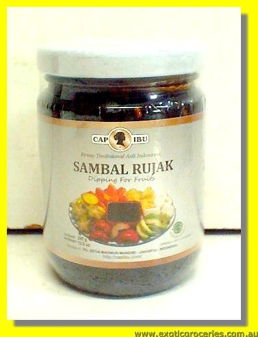 Chilli Sauce For Fruits Sambal Rujak