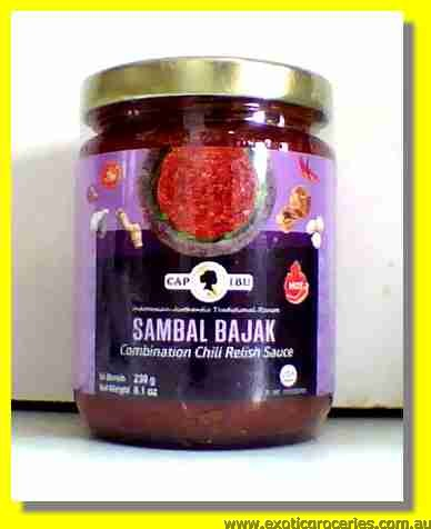 Sambal Bajak Hot Combination Chili Relish