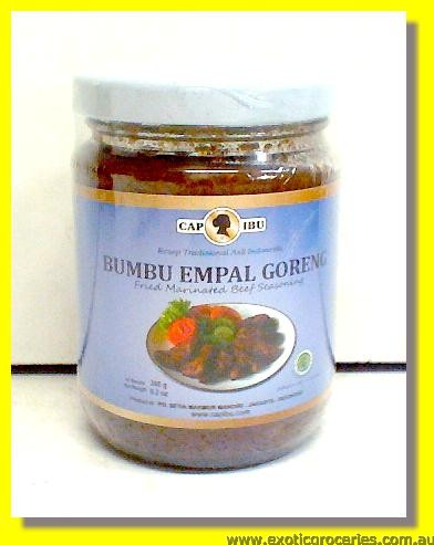 Bumbu Empal Goreng Deep Fried Marinated Beef Sauce