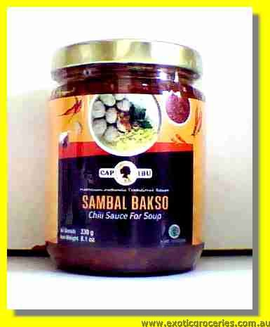 Sambal Bakso Chili Sauce for Soup