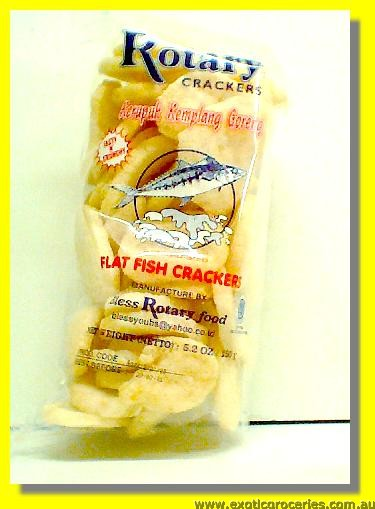 Palembang Fish Crackers