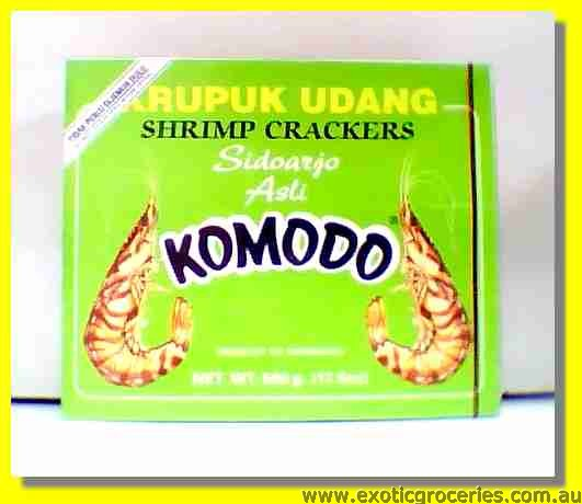 Shrimp Crackers Krupuk Udang Sidoarji Asli (Green)