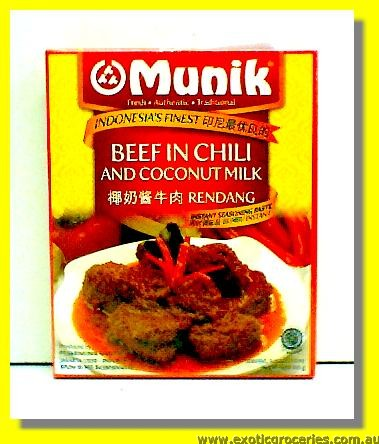 Beef Rendang Seasoning Paste