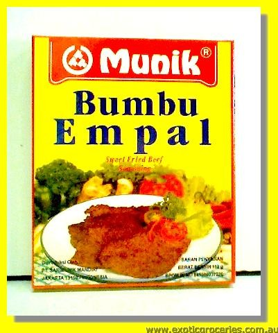 Bumbu Empal Sweet Stir Fried Beef Seasoning