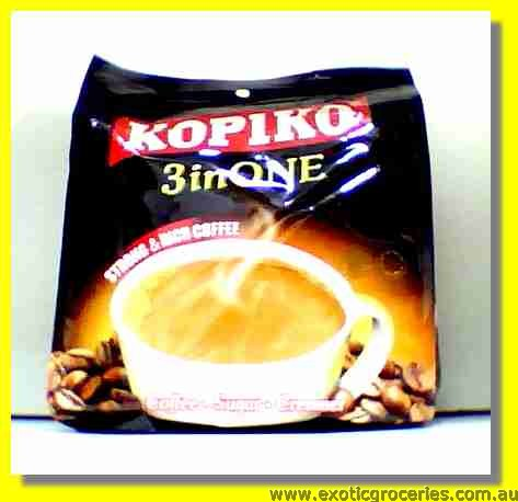 Instant Black Coffee 3in1 Strong & Rich30sachets