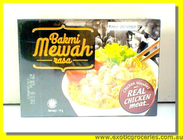 Instant Chicken Noodles with Real Chicken Meat