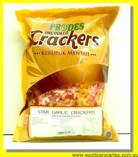 Star Garlic Crackers (Uncooked)