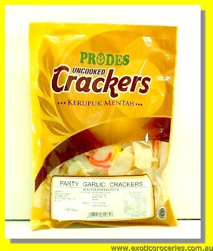 Party Garlic Crackers (Uncooked)