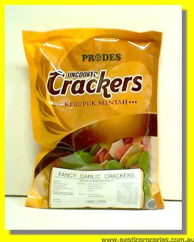 Fancy Garlic Cracker Uncooked