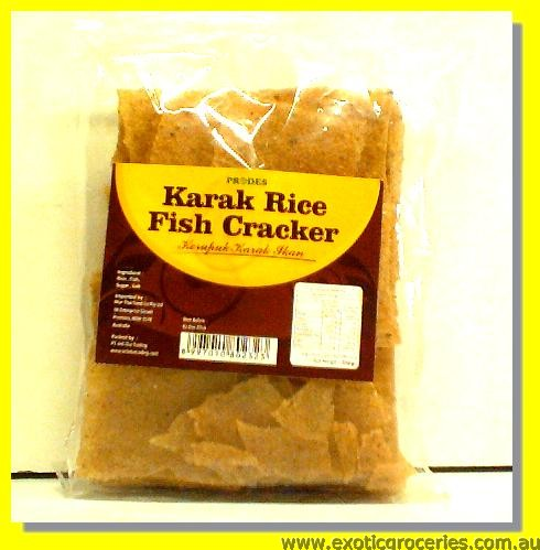 Karak Rice Fish Cracker (Kerupuk Karak Jkan)