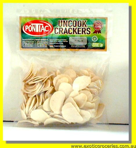 Uncooked Garlic Super Crackers