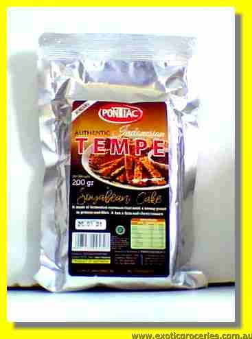 Tempe Soyabean Cake Indonesian Rendang Flavour
