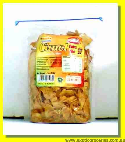 Cimol Spicy Tapioca Crackers