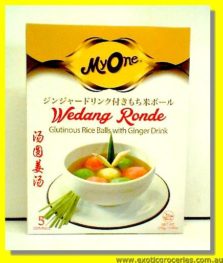Wedang Ronde Glutinous Rice Balls with Ginger Drink