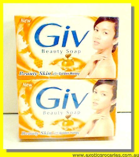 Beauty Soap with Golden Honey 4pcs