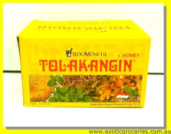 Tolak Angin + Honey 12's