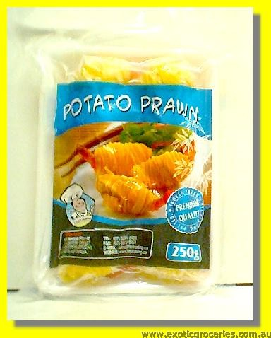 Frozen Potato Prawn 10pcs