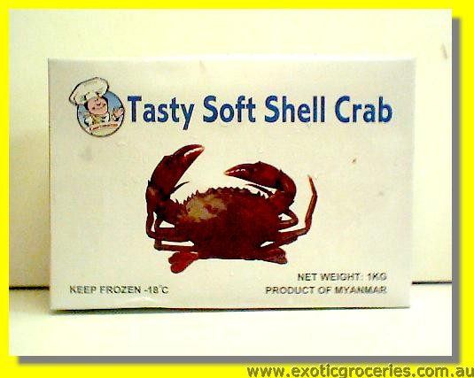 Frozen Soft Shell Crab 120/150