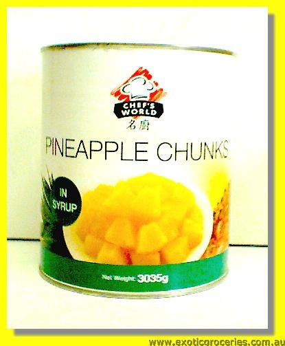 Pineapple Chunks in Syrup